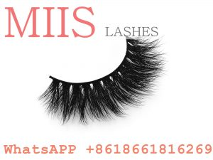 own brand 3D mink lashes with private labeling
