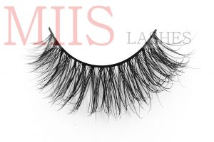 customized high quality 3d silk lashes